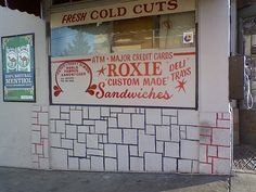 Any Junior Sandwich at Roxie Food Center Roxie's makes one of the, if not the absolute best sandwiches in San Francisco.  (There's also a Roxie's at 500 Kirkham Street between 9th and 10th Avenues, but it's not as good. Make the trip to San Jose Ave.)