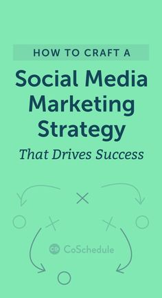 Download your [FREE] social media marketing strategy kit today: https://coschedule.com/blog/social-media-marketing-strategy/?utm_campaign=coschedule&utm_source=pinterest&utm_medium=CoSchedule&utm_content=How%20to%20Craft%20a%20Social%20Media%20Marketing%20Strategy%20That%20Drives%20Success