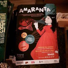 Affiche du spectacle #Amarata de #Shabano au Théâtre du Centre pendant @avignonleoff