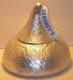 Hershey Kiss Foil Cookie Jar