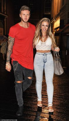 Tough times: Holly Hagan has admitted being on Geordie Shore with her boyfriend Kyle Chris...