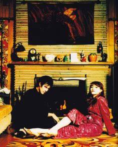 Poison Ivy and Lux Interior of The Cramps photographed by David Jensen for Details magazine, July 1992.