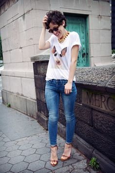 great casual chic look