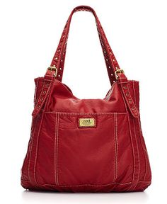 Red By Marc Ecko Handbag Smithville Tote Famous Leather Totes