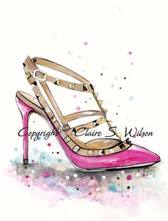 People even draw these shoes!!! haha love it