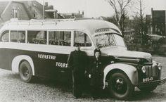 Eigenaar autobus: Symen Veenstra, Burgum Merk: Ford V8 Carrosserie: Brouwers Bouwjaar: 1947