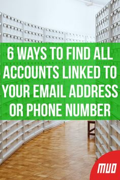 6 Ways to Find All Accounts Linked to Your Email Address or Phone Number - ECE - Technologie Iphone Hacks, Cell Phone Hacks, Smartphone Hacks, Technology Hacks, Computer Technology, Computer Programming, Programming Humor, Python Programming, Business Technology