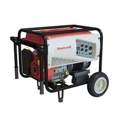 7,500-Watt Gas Powered Electric Start Portable Generator