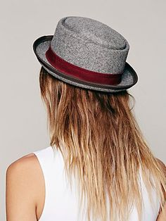 Patton Porkpie Hat ~ ever cute!