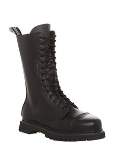 Demonia By Pleaser Rocky 14 Black Boots   Hot Topic