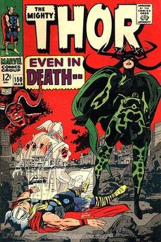 Thor 150. Por Jack Kirby. #Thor #JackKirby
