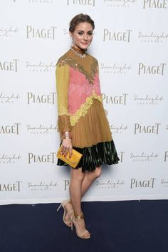 Olivia Palermo at Piaget Sunlight Journey Collection Launch in Rome, Italy.