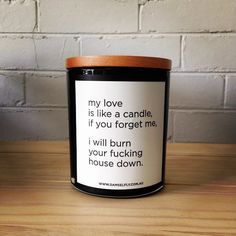 My Love Is Like A Candle
