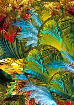 'Viva Las Vegas' by Desirée Glanville. FEATURED IN Group Incendia Spirit&Psychic Peace Group Flame Apophysis Twilight City gonna set my soul It's gonna set my soul on fire Got a whole lot of money Fractal Design, Fractal Art, Fractal Images, Estilo Tropical, World Of Color, Rainbow Colors, Bright Colours, Psychedelic, Illusions