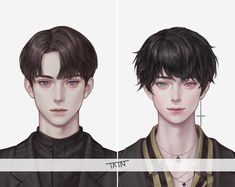 Unknown artist but very talented All credits to the rightfull owner Korean Anime, Korean Art, Anime Boy Zeichnung, Character Art, Character Design, Boy Illustration, Boy Drawing, Handsome Anime Guys, Cute Anime Couples