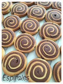 Secretos de Pastelero: Pastas de té en Espiral Pasta, Cookies, Desserts, Food, Gastronomia, Sweets, Deserts, Pastry Chef, Spirals