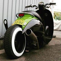 . Scooter Custom, Custom Bikes, Fast Scooters, Vespa Gtv, Honda Metropolitan, Mini Chopper, Motorbike Design, Honda Ruckus, Moped Scooter
