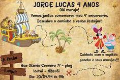 aniversário jake e os piratas da terra do nunca - Pesquisa Google