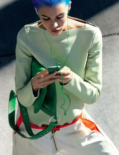 Photographed by Raymond Meier, Vogue, February 2011