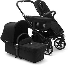 Donkey² Complete Mono Pushchair With Black Frame Bugaboo Baby- A large selection of Design on Smallable, the Family Concept Store - More than 600 brands. Bugaboo Donkey, Double Strollers, Baby Strollers, Convertible Stroller, Sun Canopy, Baby Birth, Second Child, Bassinet, Baby Car Seats