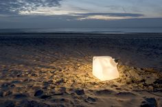 Big Glass Cube - Lamp - www.joeny.nl