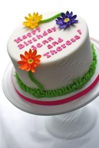 Gerber Daisy Cake - has cake pricing
