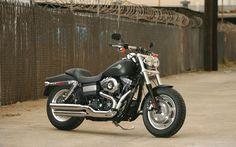 Dark Custom™ Fat Bob® | Dark Custom™ Motorcycles | Harley-Davidson USA