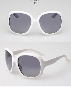 Women s Vintage Polarized Sunglasses - Multiple Colors Olho, Óculos  Gigantes, Óculos De Sol Espelhados 02647c5b3a
