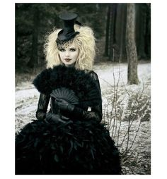Dressed and ready for the steampunk ball ~ Steampunk couture.