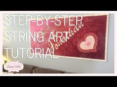 String Art DIY   Ideas, tutorials, free patterns and templates to make String Art - Part 3