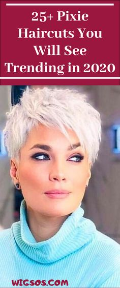 Pixie Haircuts You Will See Trending in 2020 Pixie Haircuts, Pixie Hairstyles, Trendy Hairstyles, Love Your Hair, Cut My Hair, Short Hair Cuts, Short Hair Styles, Chubby Cheeks, Celebrities