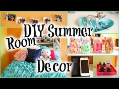 In this video I show you guys some easy DIY room decorations you can make and some ideas to spice up your room for the season! KEYWORDS: diy do it yourself summer room decor decorations ways to decorate organize iphone phone stand old cd case animal jewelry holder tumblr photo string candy jars starbursts girl girly teenager high school middle school