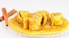 Die Pfannkuchen wurden von Detlef D! Soost getestet und für gut befunden: sättigend, proteinreich und mit Zimt für den Stoffwechsel. Köstlich!