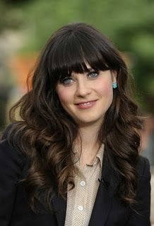 Not that I think BANGS are the way to go but you are one of very few women I know who could pull it off.
