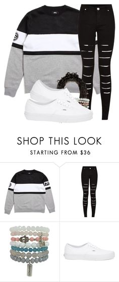 """Colors...they mean nothing"" by carlasaenz ❤ liked on Polyvore featuring Stussy, Vans, women's clothing, women's fashion, women, female, woman, misses and juniors"
