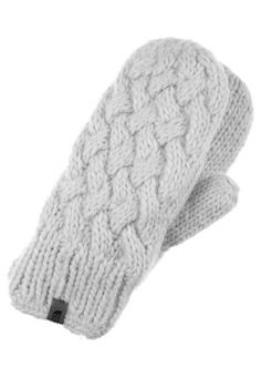The North Face CABLE KNIT MITTENS Tumvantar Grått - The North Face - New Fashioned