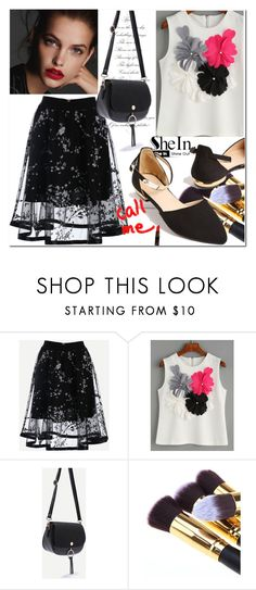 """5/23 shein"" by fatimka-becirovic ❤ liked on Polyvore featuring WithChic"