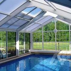 DIY Polycarbonate Pool Enclosure