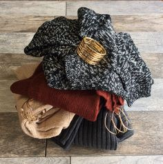 Our sweaters are both warm and stylish!