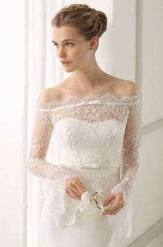 Rosa Clara Spring 2016 wedding dress collection. Click to view every romantic & elegant bridal look.