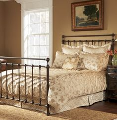 sleep country langley metal bed