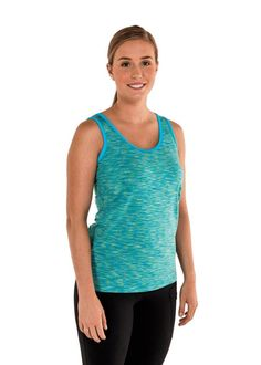 18742ee6d1 20506 Not Your Ordinary Tank Top The versatile Brooke Tank has a unique  racerback with cascading fabric designed to wear over your favorite bra  without your ...