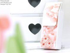 POOTLES Stampin Up UK SPRINGWATCH Fold Over Box Tutorial