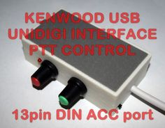 Compatible with ALL KENWOOD with 13 PIN DIN ACC2 JACK. TS-140,TS-440, TS-450S, TS-570D, TS-590S, TS-850, TS-870, TS-950, TS-990, TS-2000/X, TS-690, etc.