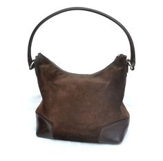Auth Mulberry Suede Leather Shoulder Bag Hobo Purse