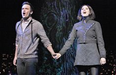 Photo of Brian Justin Crum as Lucas Beineke and Cortney Wolfson as Wednesday in The Addams Family. Addams Family Cartoon, Addams Family Wednesday, Addams Family Costumes, Brian And Justin, Family Research, Adams Family, Music Theater, Theatre Costumes, Show Photos