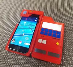Look like a legitimate trainer while you're out catching Pokemon by protecting your phone with this DIY printed Pokedex iPhone case. This fun DIY kit comes with everything necessary to transform your plain smartphone into a cool and eye-catching Pokedex. Pokemon Go, Pokemon Pokedex, Pokemon Sketch, Pokemon Eeveelutions, 3d Printing Diy, 3d Printing Service, Iphone 4, Iphone Cases, Cool Stuff