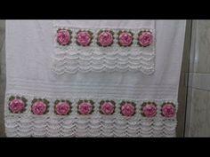 Video Aula do Barrado em Crochê Para Aplicar em Toalhas de Banho e Rosto Com Cristina Coelho Alves - YouTube