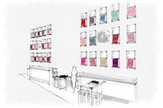 #Chanel opens #pop-up #nail #bar in #London, http://www.style-tips.com/en/news/archives/45588