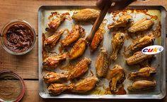Receta de Alitas de pollo CUK con salsa de azúcar moreno